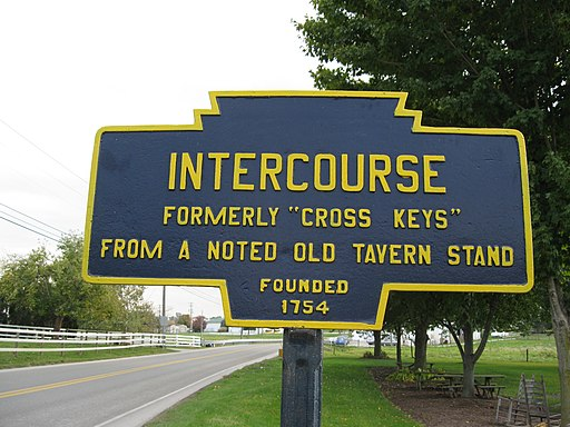 Intercourse, PA Keystone Marker 3