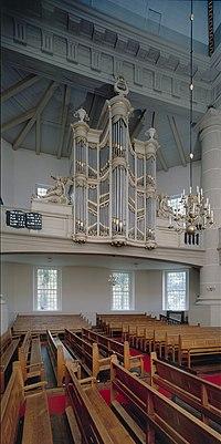 Interieur, aanzicht orgel, orgelnummer 1372 - Smilde - 20368914 - RCE.jpg