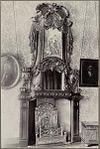 interieur- schoorsteen met spiegel en ornamentiek - groningen - 20321258 - rce