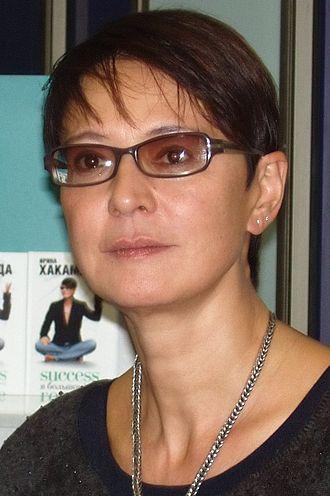 Hāfu - Irina Khakamada, Russian politician