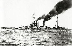 Ise-class battleship - Image: Ise 02cropped