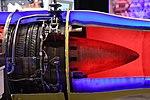 Ishikawajima-Harima F3-IHI-30B turbofan engine(cutaway model) at Niconico chokaigi April 28, 2018 07.jpg