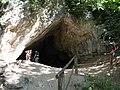 Istállós-kő Cave outside, Szilvásvárad, 2016 Hungary.jpg