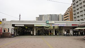 Itabashi Station West entrance 20130331.JPG