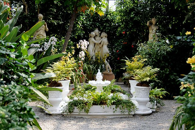 File italian garden at duke wikimedia commons - Fuentes de jardin rusticas ...
