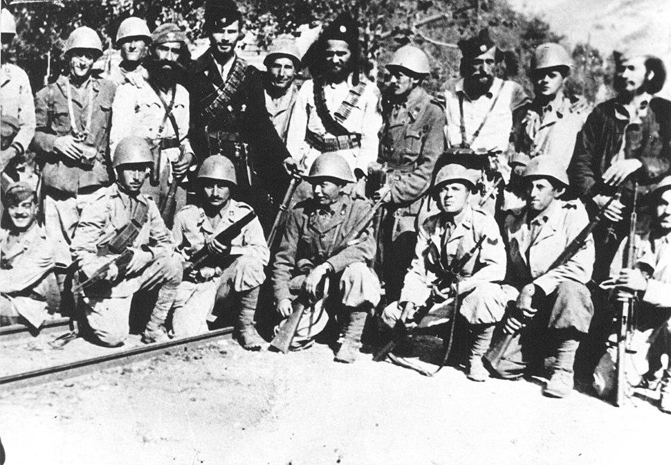 Italians and Chetniks in Jablanica 1943