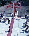 Jánoshegy, a Libegő végállomása, átadási ünnepség. Fortepan 94897.jpg