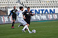 Jérôme Sonnerat (L), Dennis Hediger (R) - Lausanne Sport vs. FC Thun - 22.10.2011.jpg