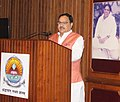 J.P. Nadda delivering the inaugural address at the First International Symposium on Hospital Medicine, at Amrita Institute of Medical Sciences and Research Centre, in Kochi, Kerala on December 05, 2015.jpg