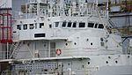 JCG Echigo(PLH-08) bridge at KHI Kobe Shipyard November 4, 2013.jpg