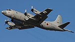 JMSDF P-3C(5067) fly over at Tokushima Air Base September 30, 2017 02.jpg