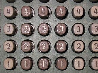 JOHNNIAC - Image: JOHNNIAC buttons