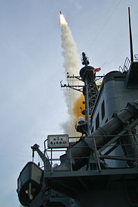 JS Chōkai launches SM-3, Nov. 2008.jpg