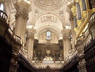 Jaén Cathedral - Vaults