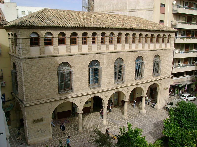 File:Jaén - Palacio de los Vilches.jpg