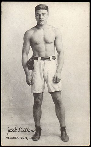 Battling Levinsky - Jack Dillon, light heavyweight champion