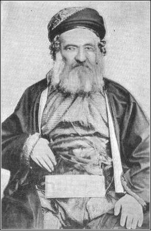 Jacob Saphir - A photograph of Saphir from the 1906 Jewish Encyclopedia