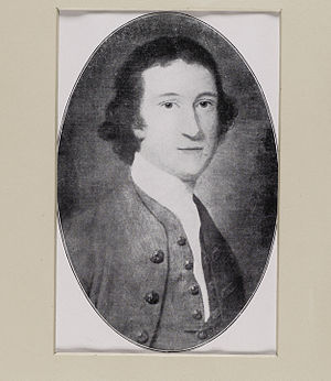Captain Wedderburn's Courtship - Print of a portrait of Captain Wedderburn, the younger