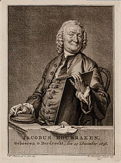 image of Jacob Houbraken from wikipedia