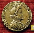 Jacopo nizzola da trezzo, medaglia di infanta isabella., fliglia di Filipo II.jpg