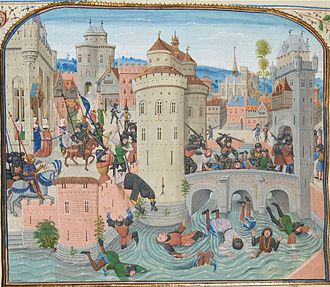 Popular revolts in late-medieval Europe - Defeat of the Jacquerie