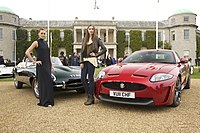 Jaguar E-Type & XKR-S - Goodwood Festival of Speed (5871734077).jpg