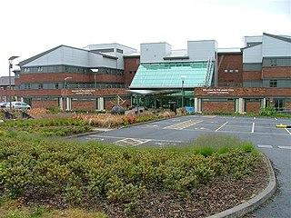 James Cook University Hospital Hospital in North Yorkshire, England