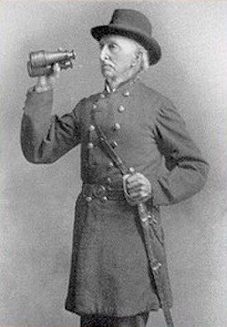 John Jackson Dickison - Photo of an elderly Col. Dickison (c. 1880)