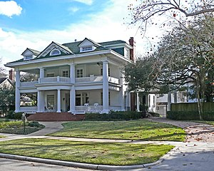 File James L Autry House On Courtlandt Place In Houston