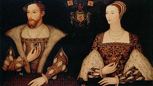 Mary of Guise - Mary of Guise and her second husband, King James V of Scotland