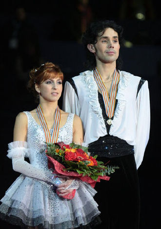 Jana Khokhlova - Khokhlova and Novitski in 2009