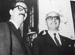Jânio Quadros - Image: Janio Cuadros y Arturo Frondizi