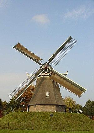 Aalden - Jantina Hellingmolen windmill
