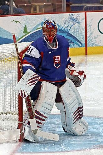 Jaroslav Halák - Image: Jaroslav Halak 2010Winter Olympics
