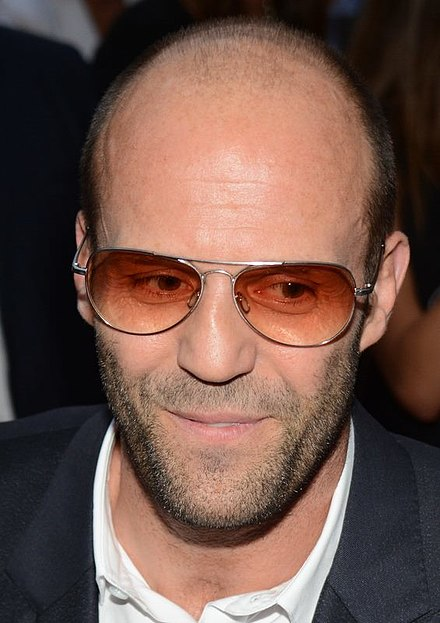 Statham at the French premiere of The Expendables 3 in Paris in 2014 - Jason Statham