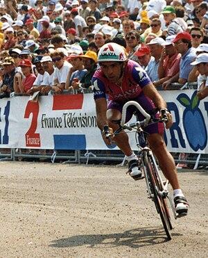 Amaya Seguros (cycling team) - Javier Murguialday at the 1993 Tour de France