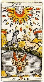 Moon Tarot Card