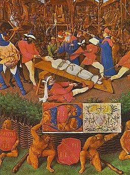 Jean Fouquet - The Martyrdom of St Apollonia - WGA08031