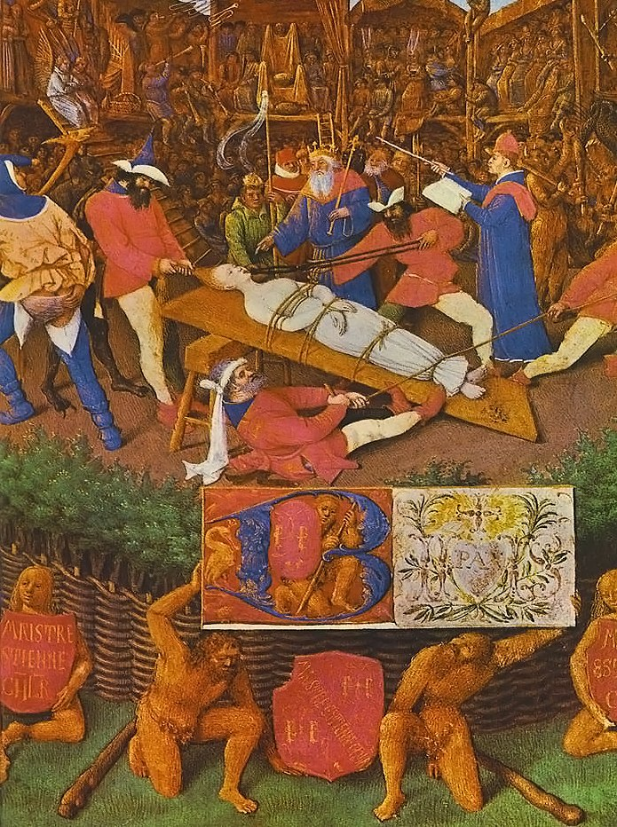 Jean Fouquet - The Martyrdom of St Apollonia - WGA08031