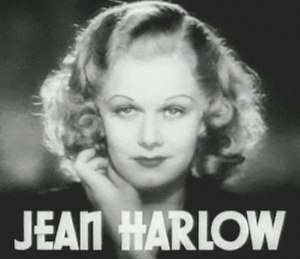 Blonde stereotype - Jean Harlow, the original blonde bombshell, in Riffraff