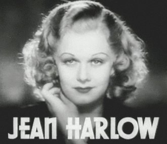 Blonde stereotype - Jean Harlow, the original blonde bombshell, in Riffraff (1936)