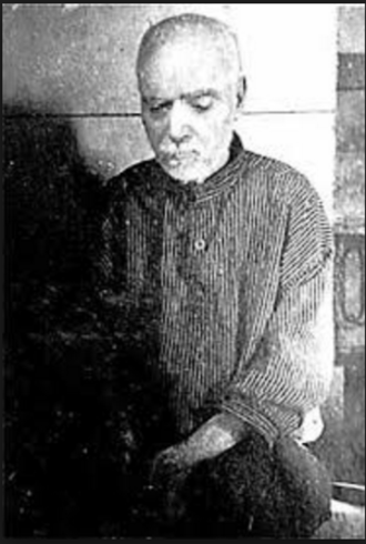 """Jerome of Sandy Cove - Described as """"a well built man and appeared to be between 75 and 80 years of age, having an intelligent look, and a well-shaped head"""" Daily Echo, 1912"""