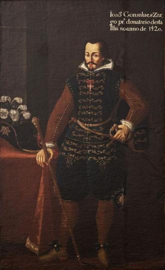 João Gonçalves Zarco - A posthumous portrait attributed to Nicolau Ferreira, c. 1790.