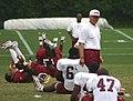 Joe Gibbs during Redskins training camp, August 2005.jpg