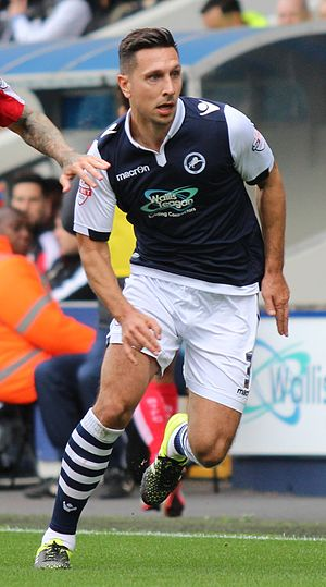 Joe Martin (footballer) - Image: Joe Martin Millwall Vs Swindon Town (22068806048) (cropped)
