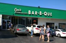 The original Joe's Kansas City Bar-B-Que in Kansas City, Kansas.