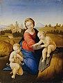 Johann Evangelist Scheffer von Leonhardshoff - Madonna mit Kind und Johannesknaben - 6240 - Österreichische Galerie Belvedere.jpg