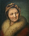 Johann Joseph Achermann (manner of Balthasar Denner) - old woman (INV 1209 Louvre).jpg