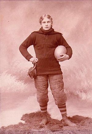 Latrobe Athletic Association - John Brallier: The first football player to admit to being a professional