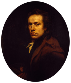 John Opie - Self portrait (1789)